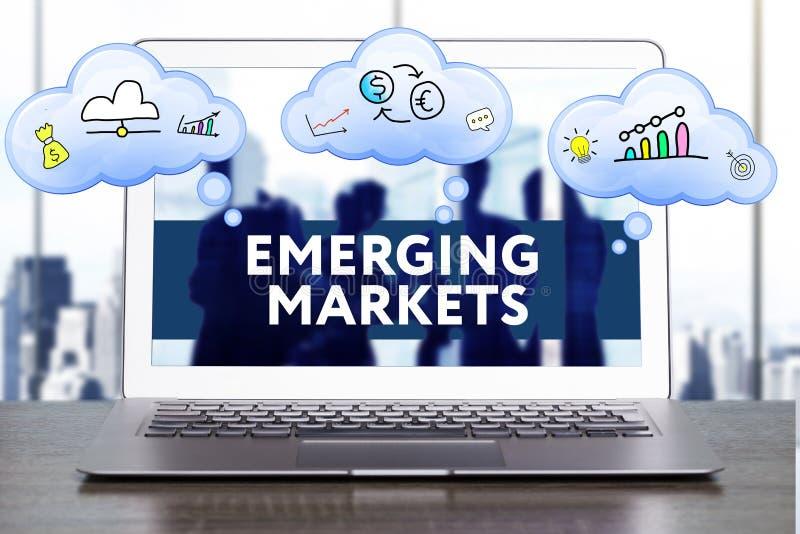 Strategia di marketing Concetto di strategia di pianificazione Affare, technol fotografia stock libera da diritti