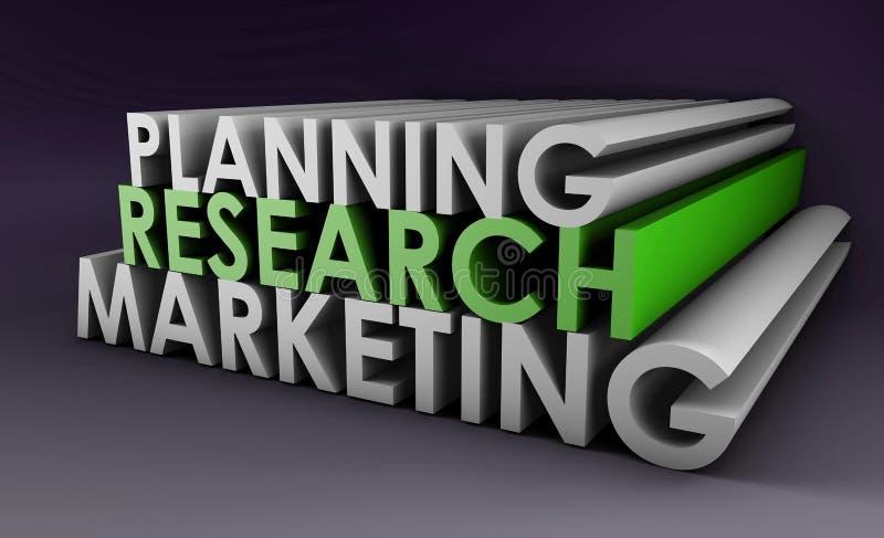 strategia marketingowa ilustracja wektor