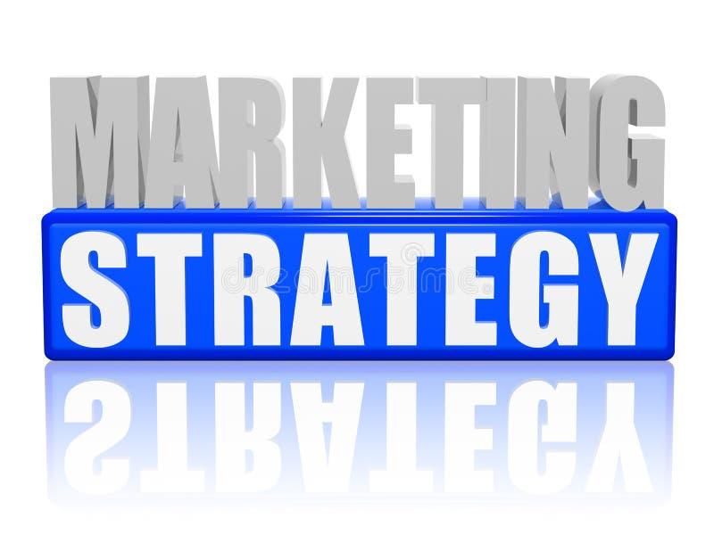 strategia marketingowa royalty ilustracja