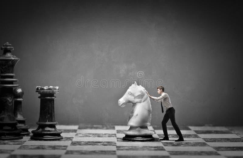 Strategic business stock image