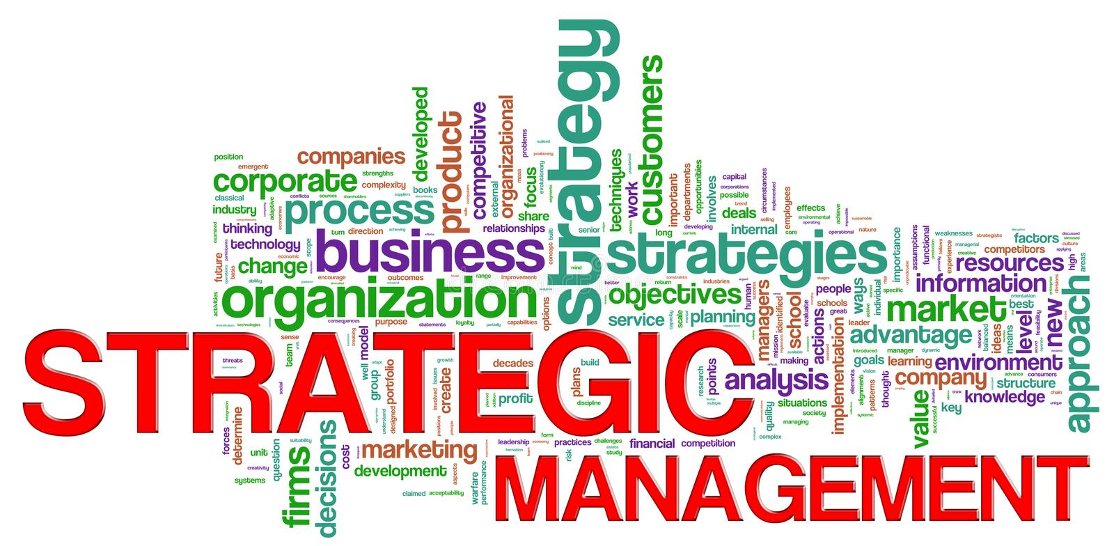 Download Strategic Management Word Tags Stock Images - Image: 25430354