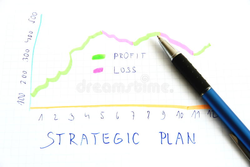 Strategic plan stock image. Image of executive, competency - 36498211
