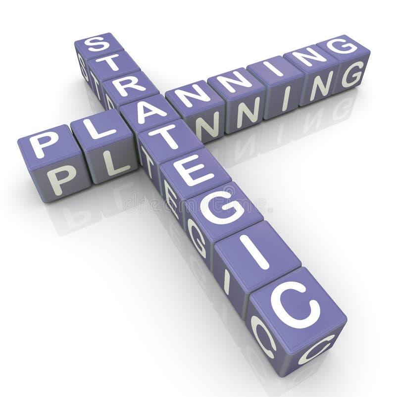 Strategic planning crossword