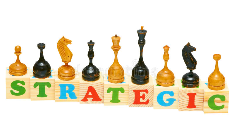 Download Strategic Wooden Blocks Stock Photo - Image: 19643520