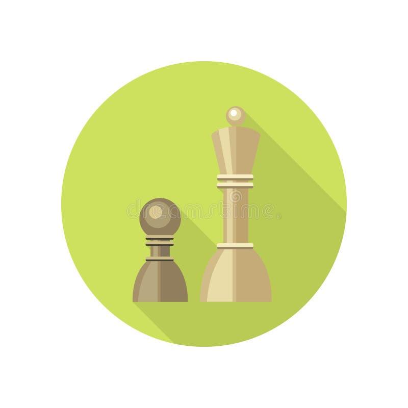 Strategiczna zarządzanie ikona ilustracja wektor