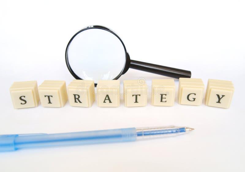 Strategie stock foto's