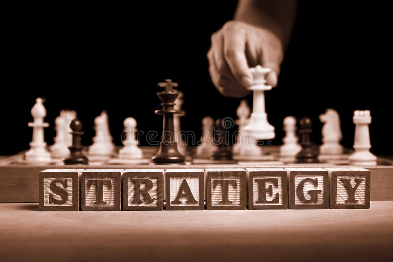 Strategie stock foto's