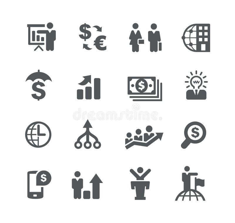 Strategie aziendali di //di pianificazione finanziaria illustrazione vettoriale