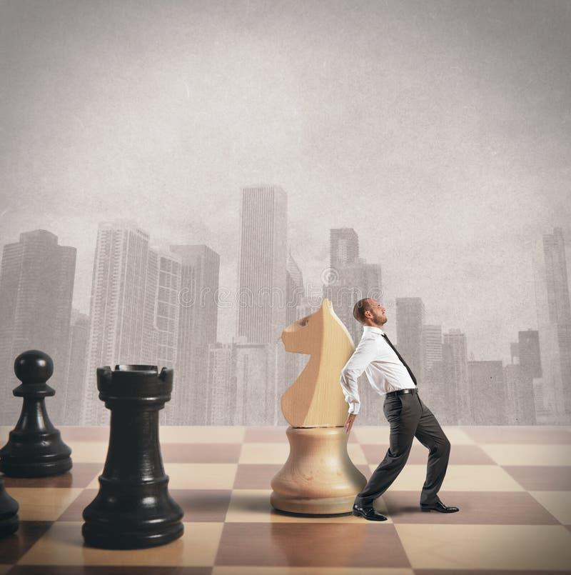 Strategie en tactiek in zaken royalty-vrije stock foto's