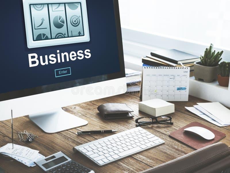 Strategie Marketing Bedrijfs Planningsconcept stock afbeelding
