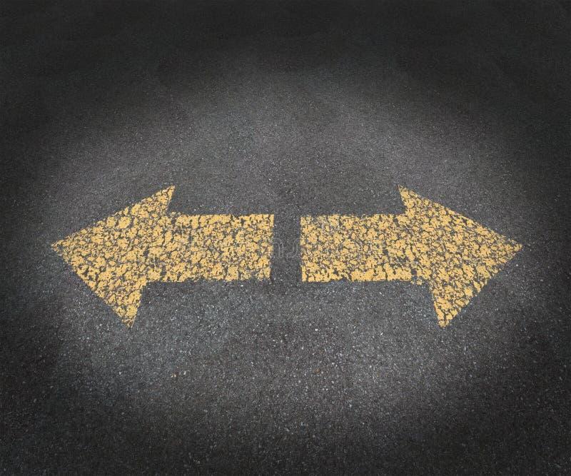 Strategie und Entscheidungen stock abbildung