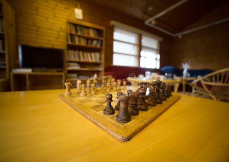Strategieschaak stock afbeeldingen