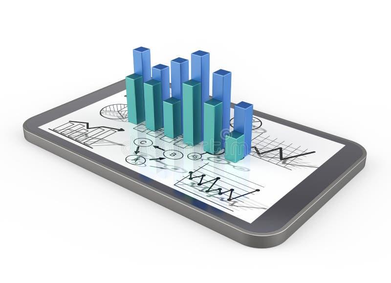 Strategia biznes ilustracja wektor