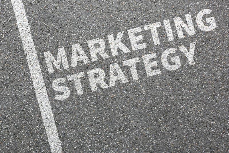 Strategii marketingowej sprzedaży sprzedaży reklamy firmy biznesowy przeciw obraz stock