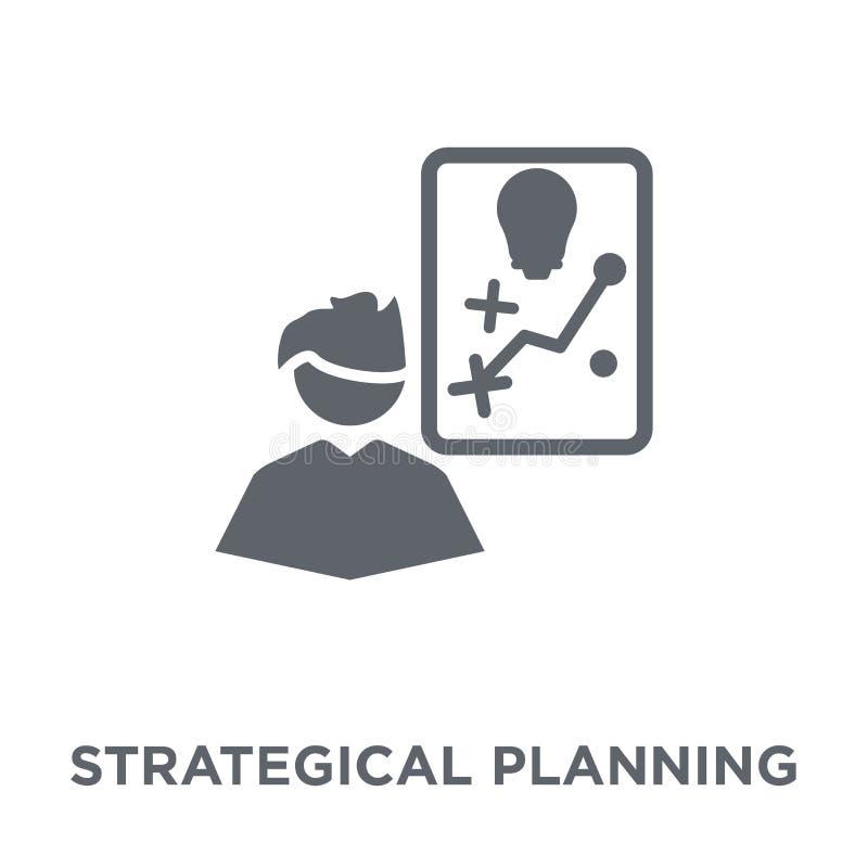 Strategisch planningspictogram van Strategie 50 inzameling vector illustratie