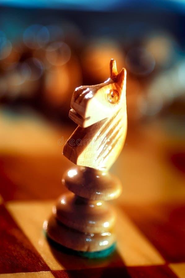 Strategisch spelenschaak stock afbeelding