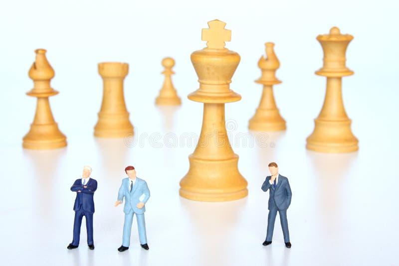 Strategische besluiten stock foto