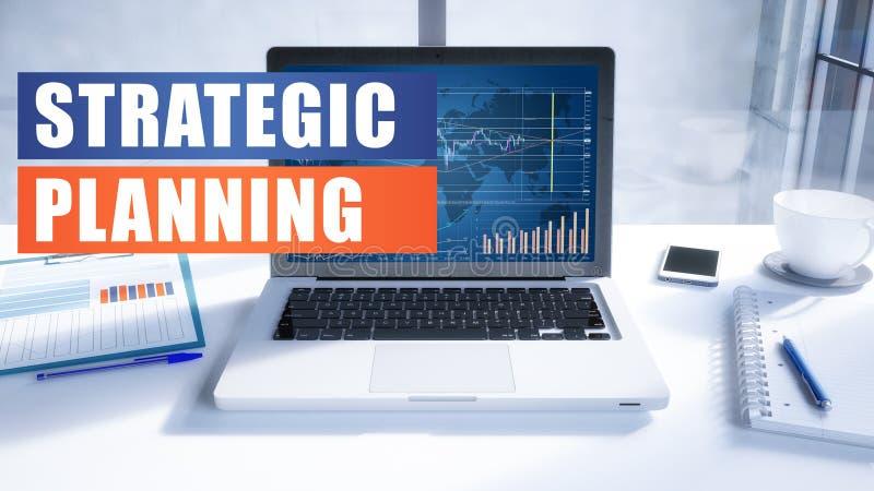 Strategische Planung lizenzfreie abbildung