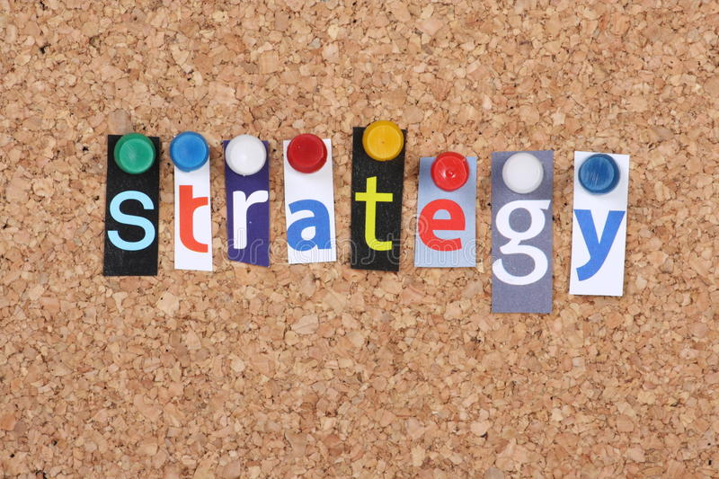 Download Strategy stock image. Image of letters, strategy, vision - 17280627
