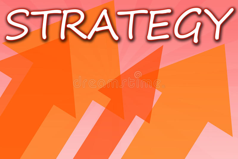 Strategy royalty free illustration