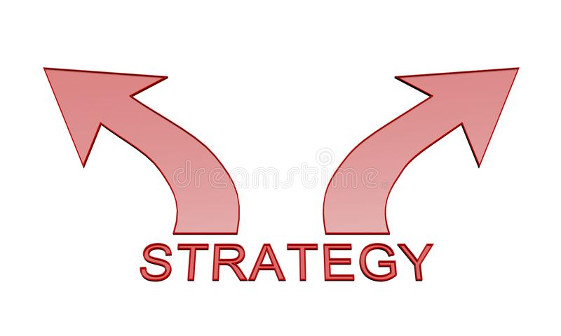 Download Strategy arrow icon stock illustration. Illustration of strategy - 10718411