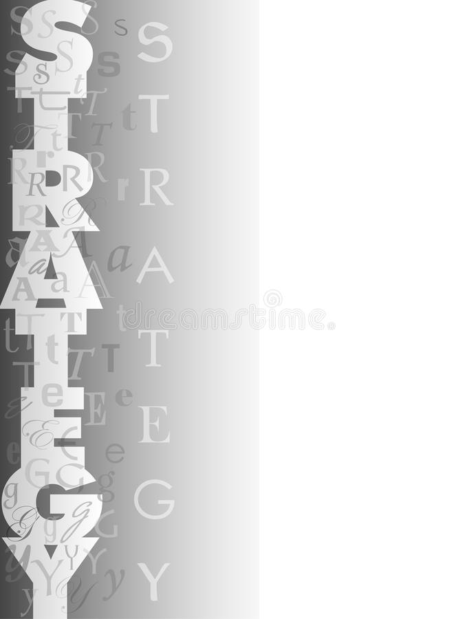 Download Strategy Collage Background Stock Illustration - Image: 9477646