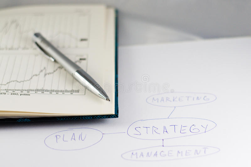 Download Strategy plan stock image. Image of analysis, develop - 17418321