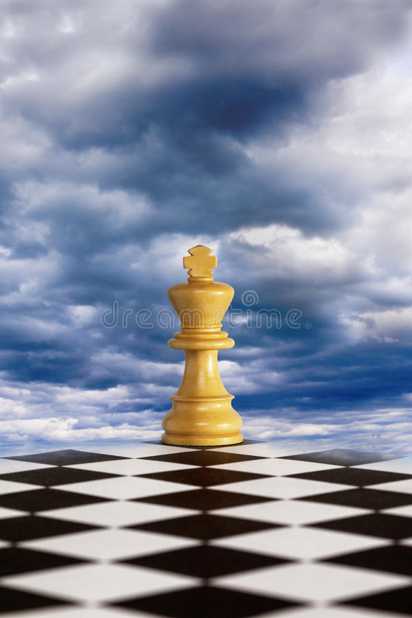 Strategy For Troubled Times Royalty Free Stock Images