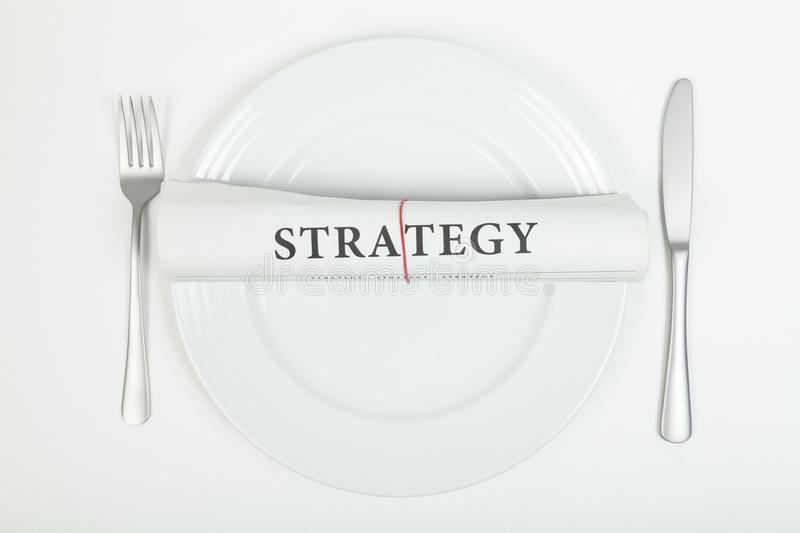 Strategy royalty free stock images