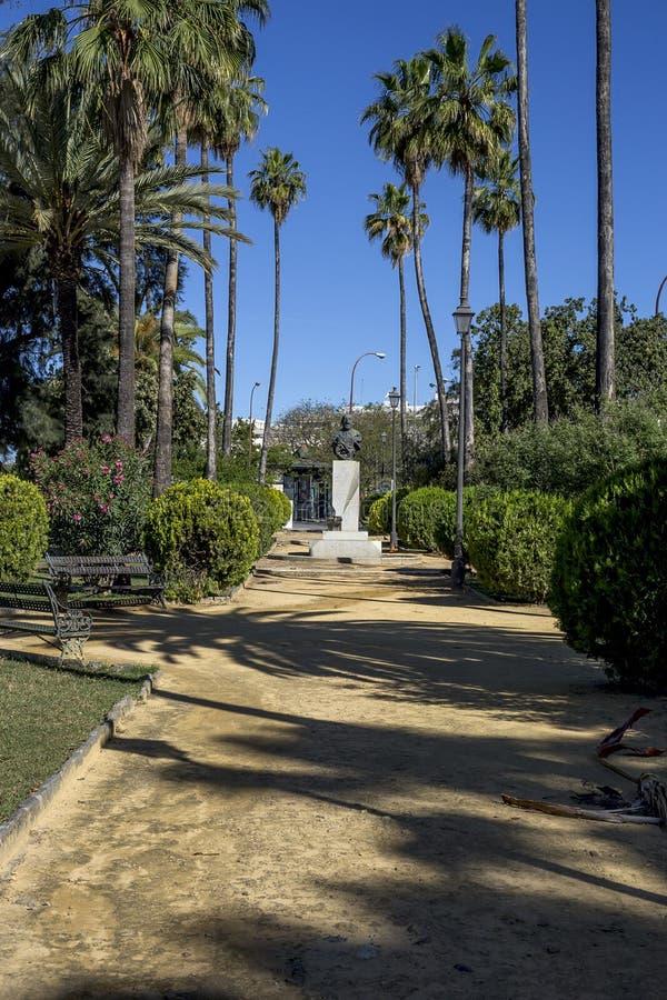 Straten en hoeken van Sevilla andalusia spanje royalty-vrije stock foto's