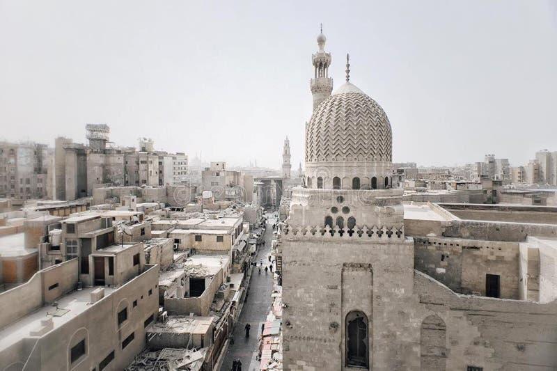 Straten Kaïro stock fotografie