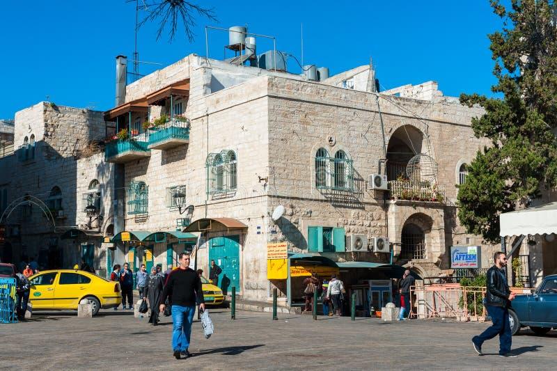 Straten van Bethlehem stock foto