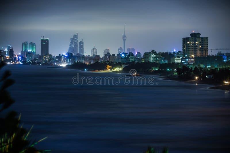 Straten van Colombo, Sri Lanka royalty-vrije stock fotografie