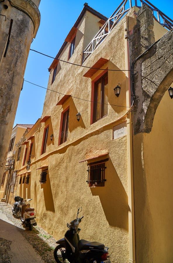 Straten van de oude stad stock fotografie