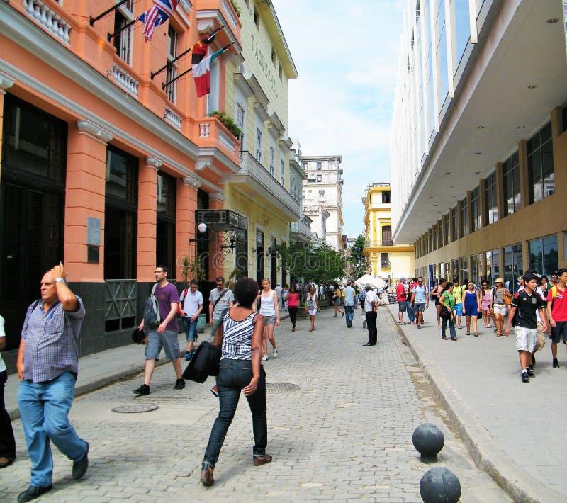 Straten van Havana royalty-vrije stock foto
