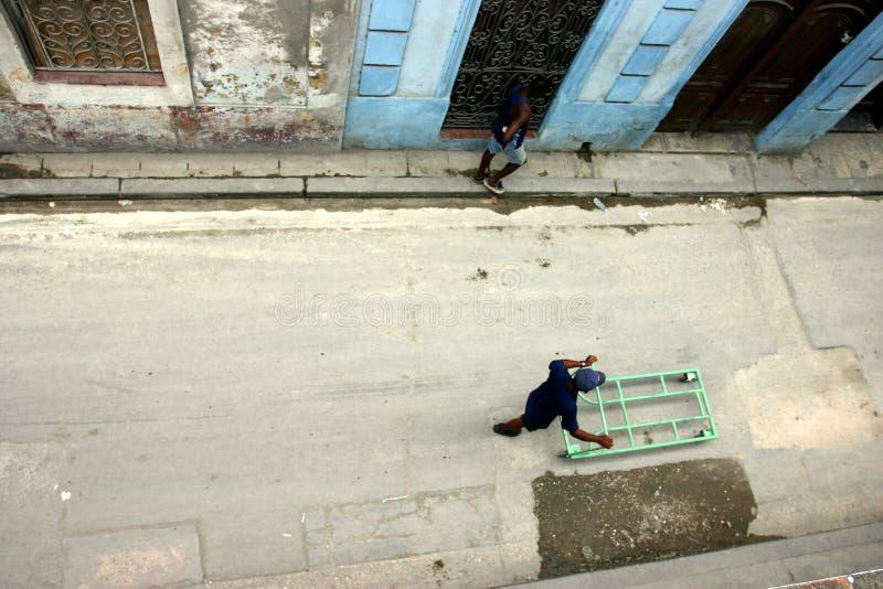 Straten van La Havana stock foto's