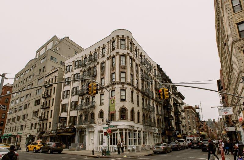Straten van New York royalty-vrije stock foto's