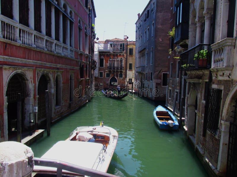Straten van Venetië stock afbeeldingen