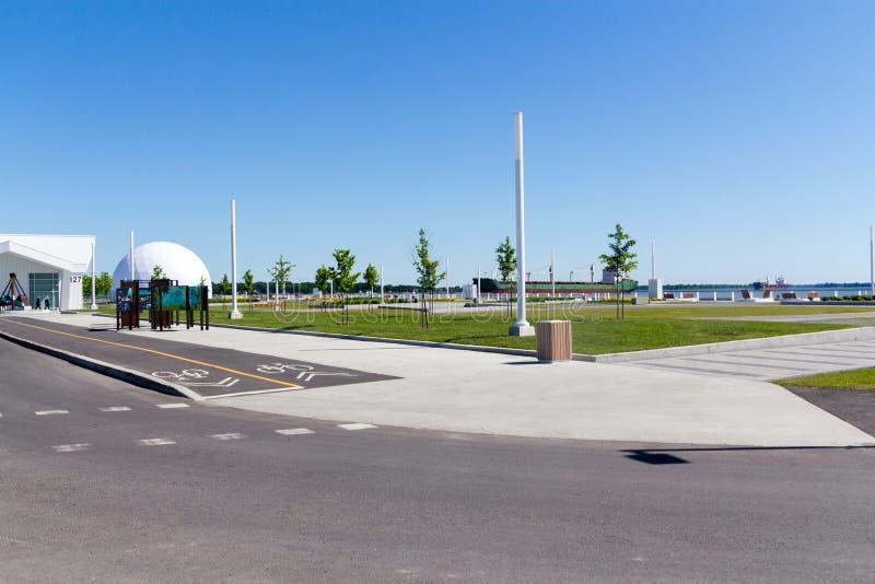 Stratera和Quai在Sorel特雷西魁北克加拿大的no2 免版税库存照片