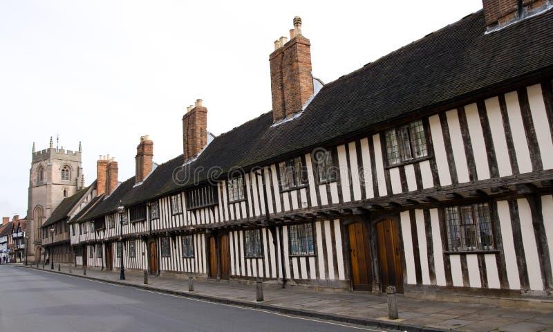 Stratford upon Avon. Classic old english town, Stratford upon Avon stock image