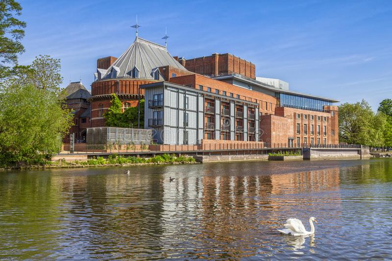 Stratford upon Avon Royal Shakespeare Theatre royalty free stock photography