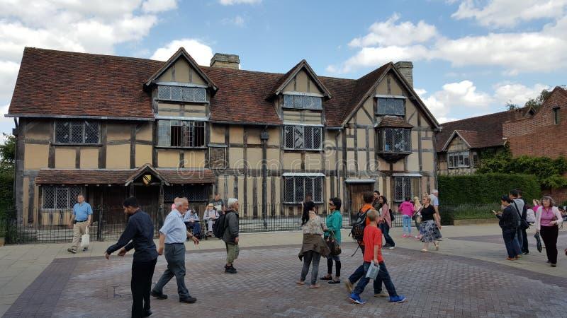 Stratford em cima de Avon Shakespeare foto de stock royalty free