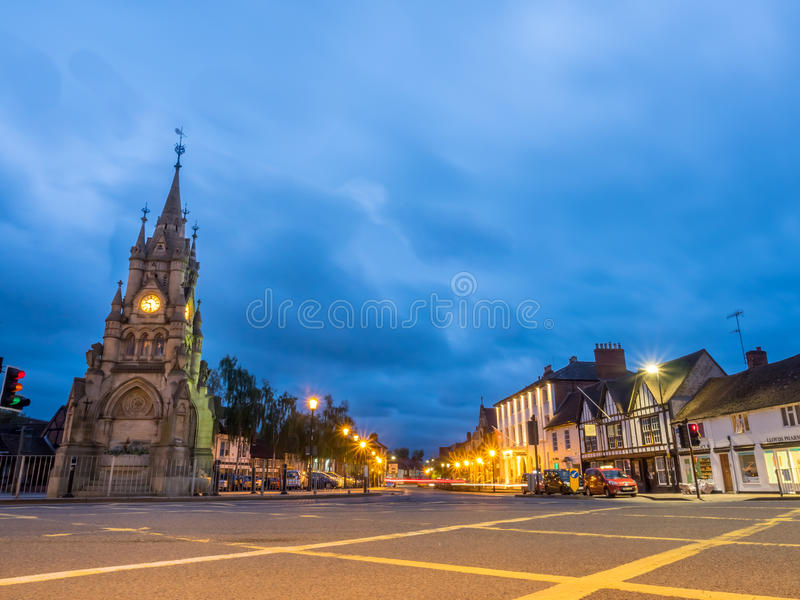 Stratford-Glockenturm stockfotos