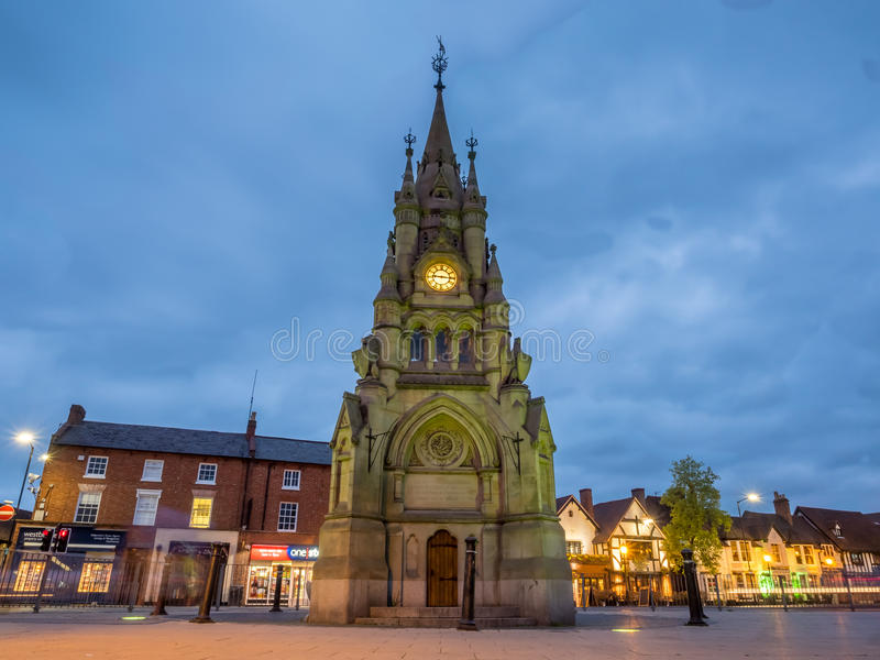 Stratford-Glockenturm stockbild