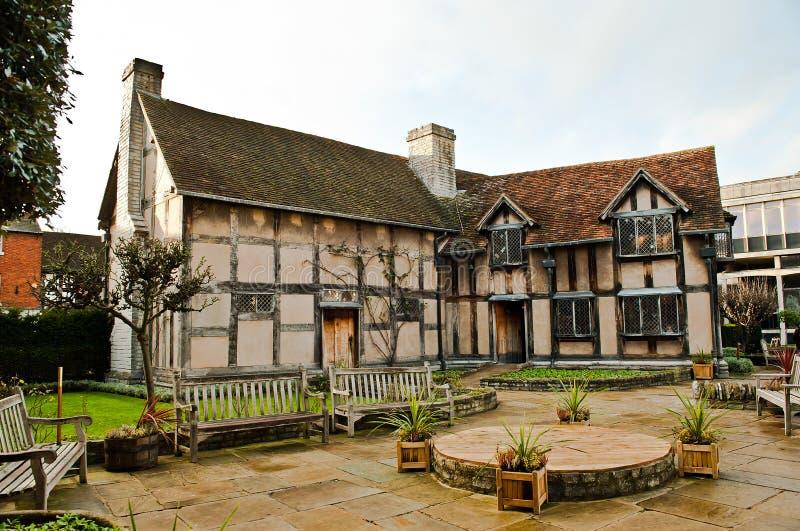 Stratford på avon warwickshire England arkivfoton