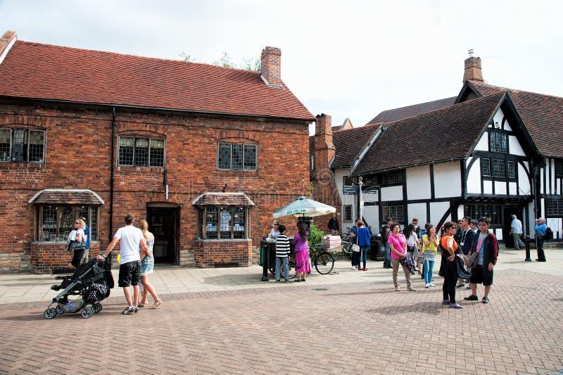 Stratford sobre Avon imagenes de archivo