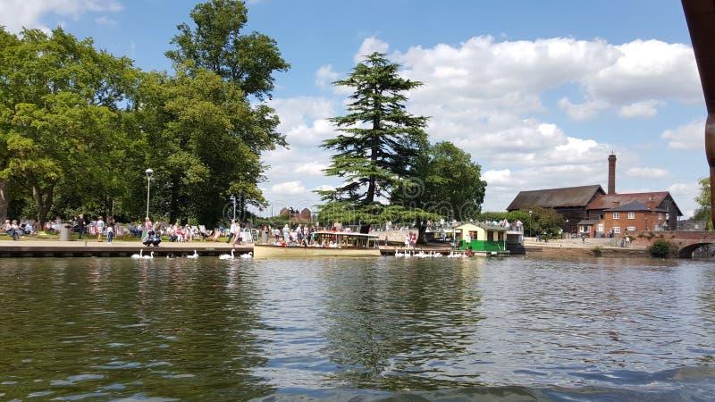 Stratford sopra Avon Shakespeare fotografia stock libera da diritti