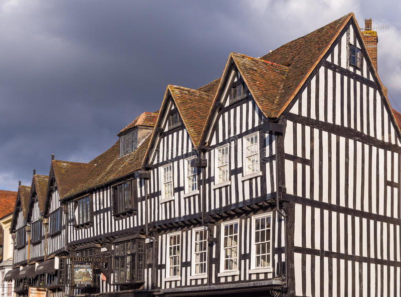 Stratford su Avon, Inghilterra fotografie stock