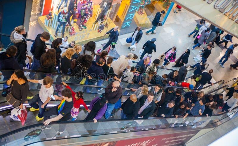 Stratford village shopping centre, London royalty free stock photo