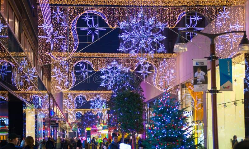 Stratford village shopping centre, London stock photo